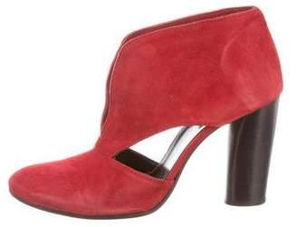 Zero Maria Cornejo Suede Ankle Boots