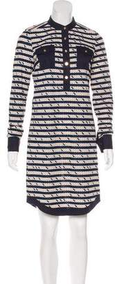 Tory Burch Knee-Length Patterned Dress