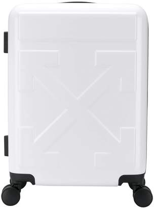 Off-White quote trolley suitcase