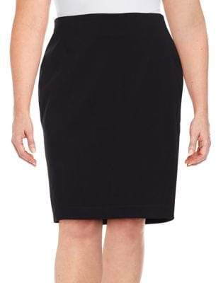 Lord & Taylor Plus Timeless Pencil Skirt