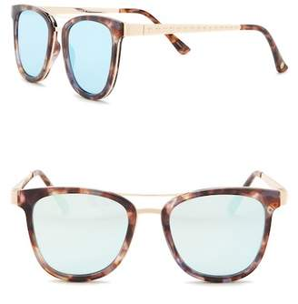 Vince Camuto Combo Flat Aviator Sunglasses