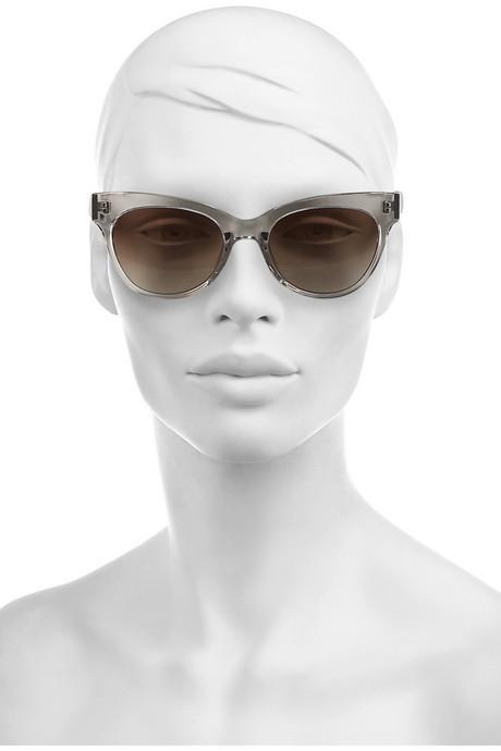 The Row Cat eye acetate sunglasses