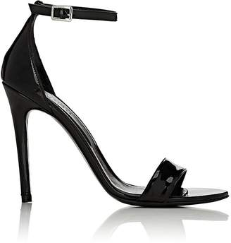 Barneys New York Women's Patent Leather Ankle-Strap Sandals