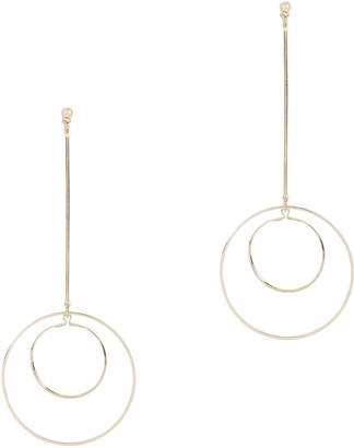 Lele Sadoughi Dangling Orb Earrings