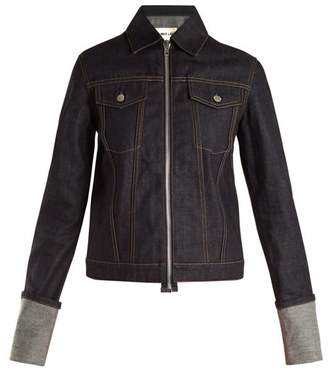 Helmut Lang Zip Through 2004 Denim Jacket - Womens - Denim