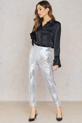 Na Kd Party Sequins Ankle Pants