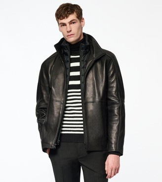 Andrew Marc HARTZ LEATHER JACKET