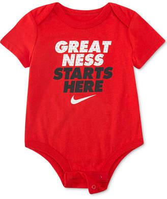 dc756552b4 Nike Baby Boys Greatness Graphic Bodysuit