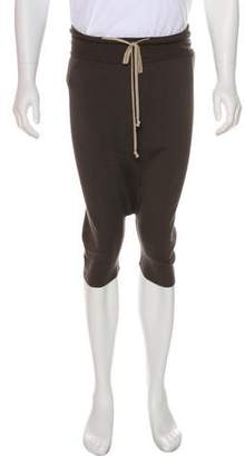 Rick Owens Sphinx Wool Drop-Crotch Pants