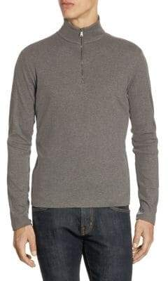 Ralph Lauren Slim-Fit Half-Zip Sweater