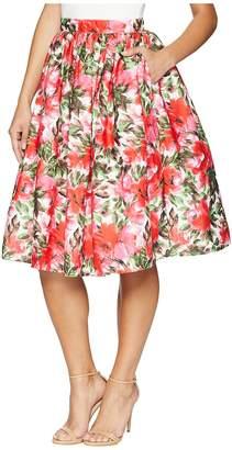 Unique Vintage High Waist Swing Skirt Women's Skirt