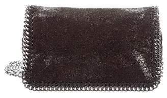 Stella McCartney Mini Falabella Flap Crossbody Bag
