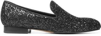 Donald J Pliner LYLE, Glitter Nappa Leather Loafer