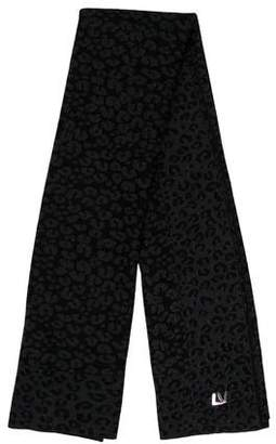 Louis Vuitton Cashmere Silk Leopard Shawl