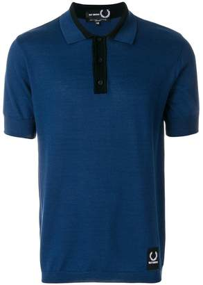 Fred Perry knitted sports polo shirt