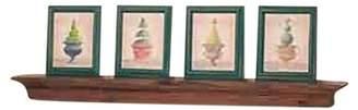 "The Renovator's Supply Bathroom Shelves Antique Pine Mantle Shelf 40""W | Renovator's Supply"