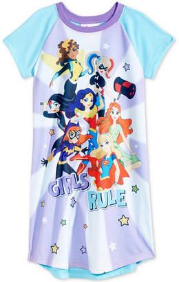 LTB Dc Comics Girls Rule Superheroes Nightgown, Little & Big Girls