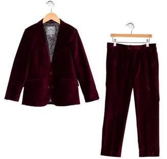 Appaman Fine Tailoring Boys' Two-Piece Velvet Suit