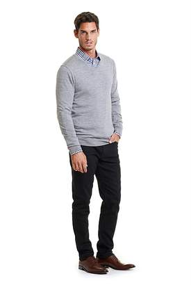 Country Road Traceable Merino V-Neck Knit