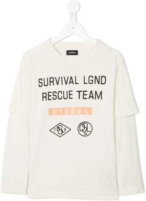 Diesel Rescue Team longsleeved T-shirt