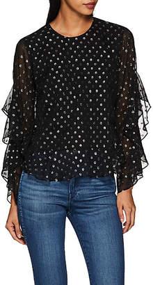 Robert Rodriguez Women's Cam Fil Coupé Blouse - Black