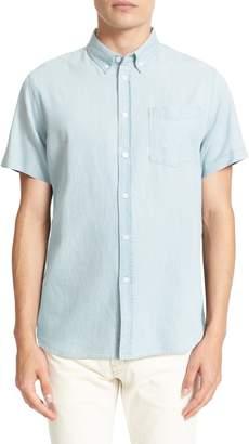 Saturdays NYC Esquina Slim Fit Denim Sport Shirt