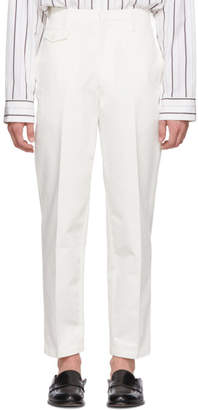 Lemaire White Chino Trousers