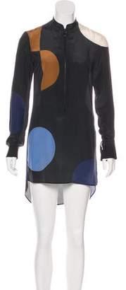 Akris Punto Long Sleeve Casual Dress