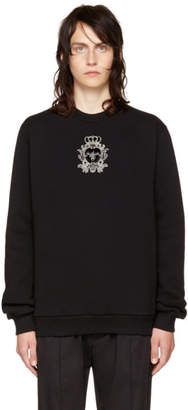 Dolce & Gabbana Black Bee Sweatshirt