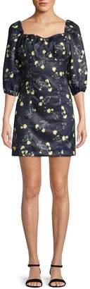 Lea & Viola Floral-Print Sheath Dress