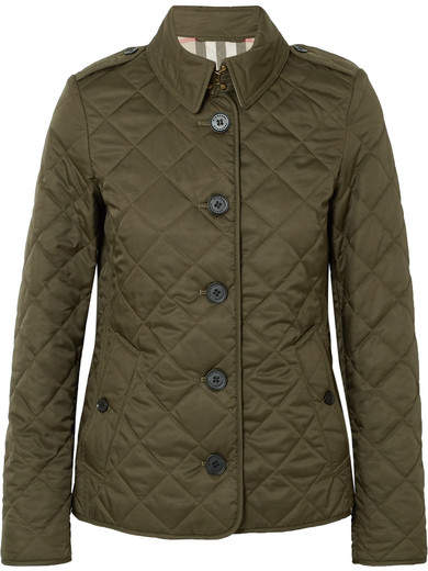 Burberry - Quilted Shell Jacket - Green