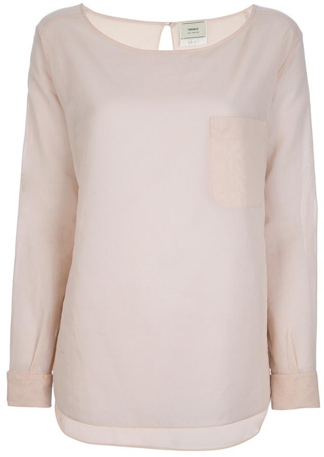 Forte Forte sheer blouse
