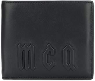 McQ logo bi-fold wallet