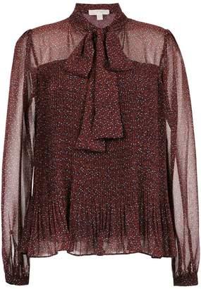 MICHAEL Michael Kors Vine-print chiffon blouse