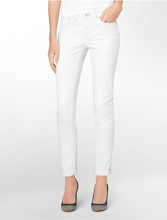 Calvin Klein Ultimate Skinny Roll-Up Jeans