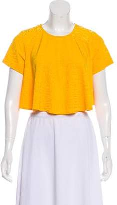Torn By Ronny Kobo Oversize Crop Top w/ Tags
