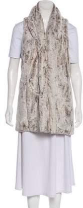 Alice + Olivia Faux Fur Short Vest