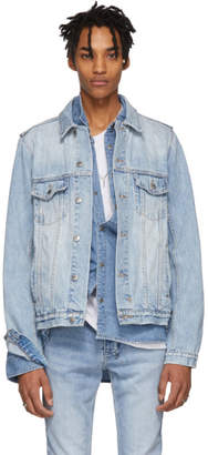 Ksubi Blue Denim Classic Karma Jacket