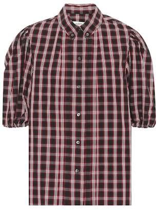 Etoile Isabel Marant Isabel Marant, Étoile Orem checked cotton shirt