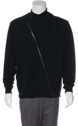 Maison Margiela Woven Zip-Up Jacket