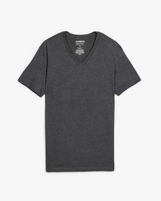 Express Slim Supersoft V-Neck Tee