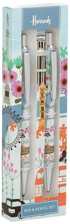 London Collage Pen and Pencil Set