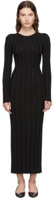 Totême Black Bianco Long Dress