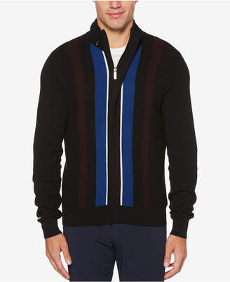 Perry Ellis Men's Vertical Stripe Sweater
