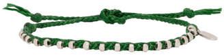 Paul Smith Green Friendship Bracelet