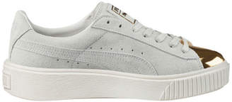 Puma Suede Creeper White Gold Sneaker