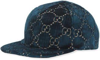 b92486e83d25f Gucci GG Supreme Velvet Baseball Hat