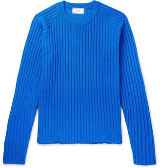 Ami Ribbed-Knit Sweater