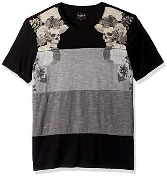 GUESS Men's Stream Becklin Floral T Shirt