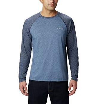 Columbia Men's Big and Tall Thistletown Park Raglan Tee